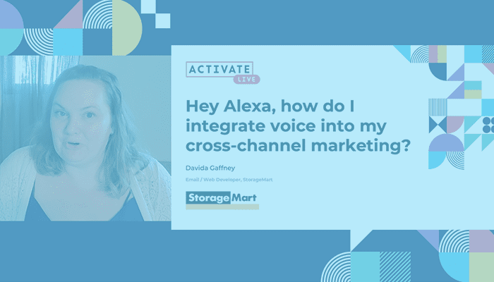 Hey Alexa, How Do I Integrate Voice in My Cross-Channel Marketing?
