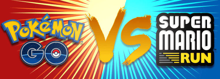 Pokémon Go vs  Super Mario Run: Which Engages Users Better