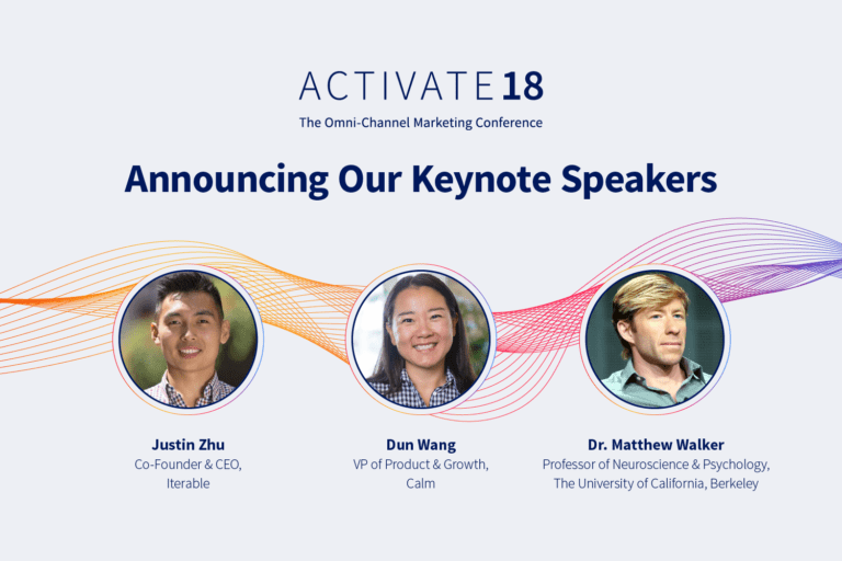 Keynote Speakers for Activate