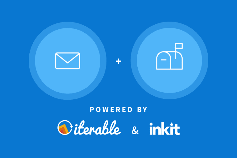 Direct mail automation powered by Iterable and Inkit