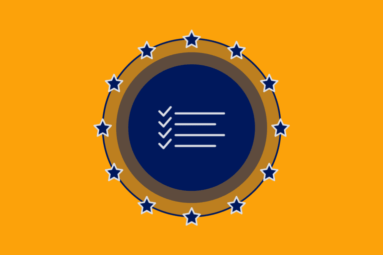 Checklist icon to represent GDPR cheat sheet