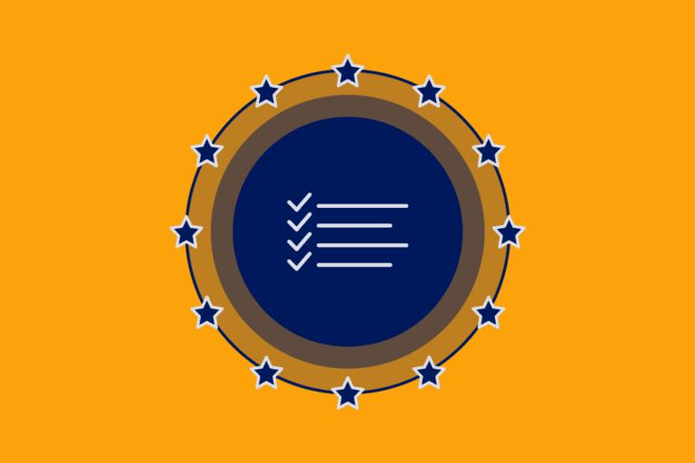 Checklist icon to represent GDPR cheat sheet