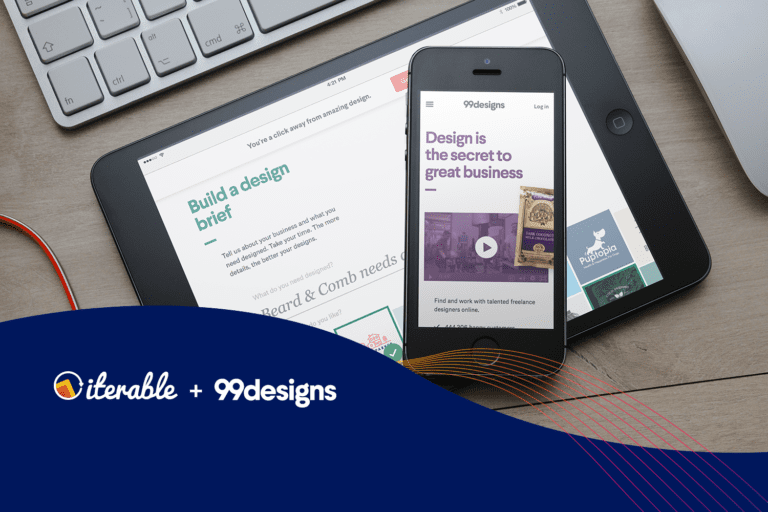 Iterable + 99designs Case Study