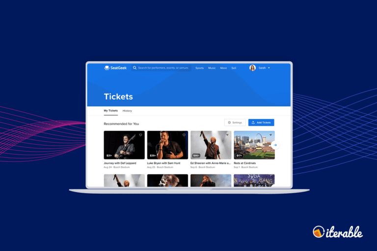 SeatGeek Masters Customer Engagement