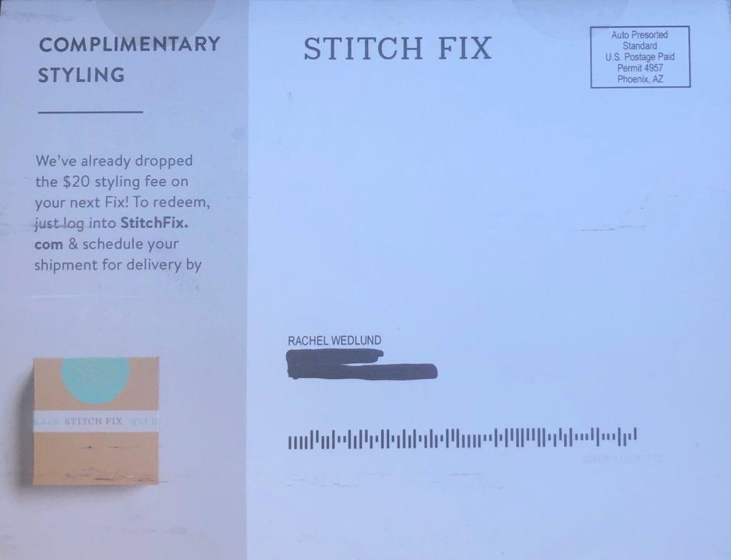 Stitch Fix dynamic direct mail