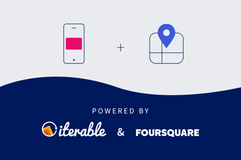 Next-gen geotargeting powered by Iterable + Foursquare