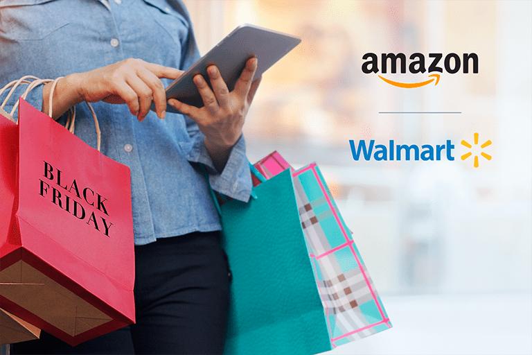Black Friday Amazon vs. Walmart