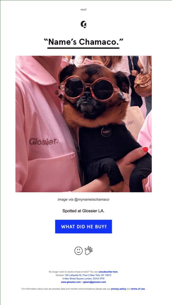 Best of 2018 Cross-Channel Marketing - Glossier