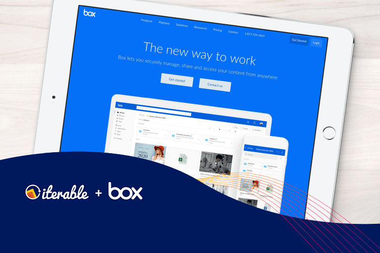 Box case study header