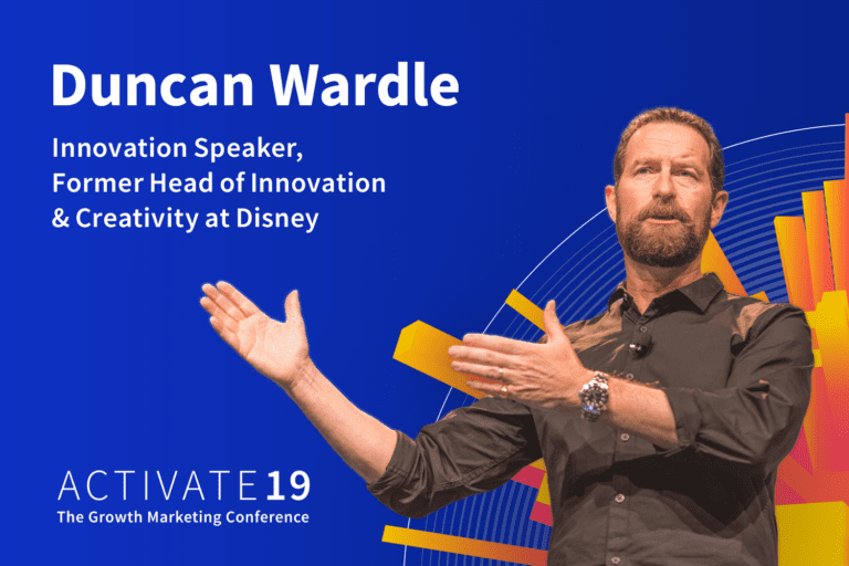 Activate 19 keynote speaker: Duncan Wardle from Disney