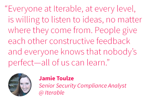 Jamie Toulze quote