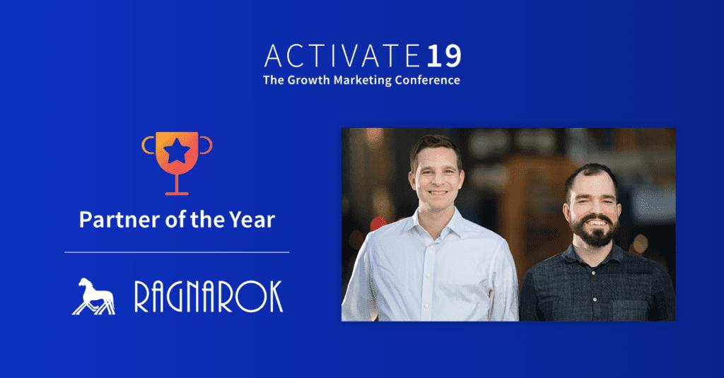 Ragnarok - Partner of the Year - 2019 Growth Marketing Awards
