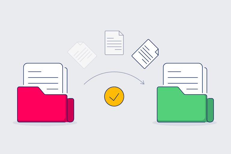 Illustration of preparing for marketing platform migration.
