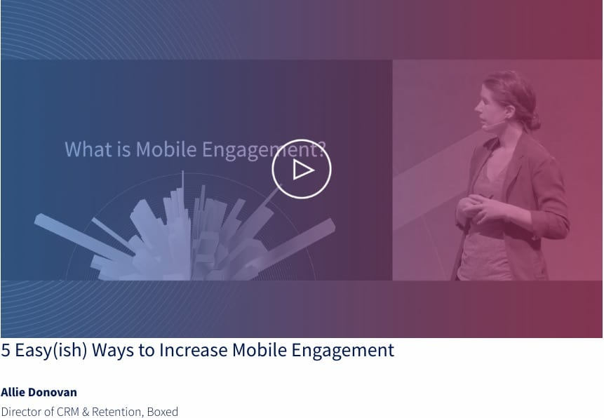 Allie Donovan talks mobile engagement at Activate