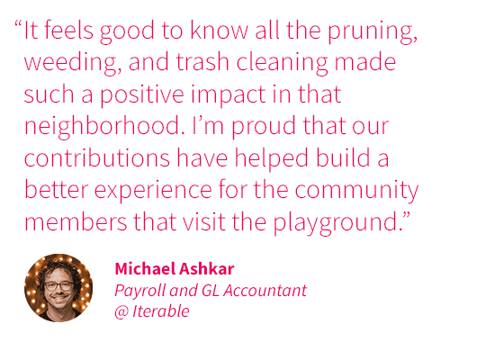 Char-iterable Event SF Parks Quote