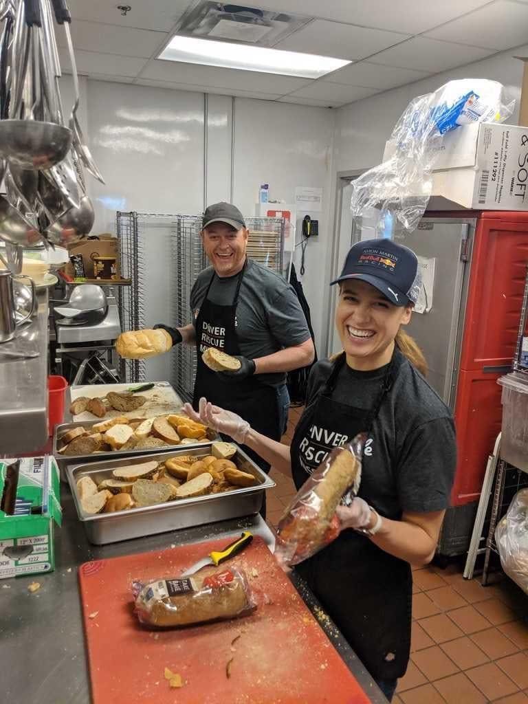 Denver Rescue Mission volunteer day