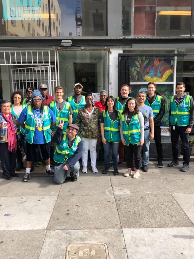 Safe Passage volunteer day in San Francisco