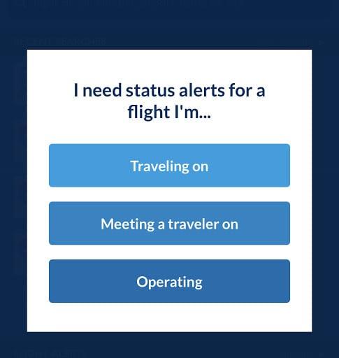 FlightAware Status Alerts