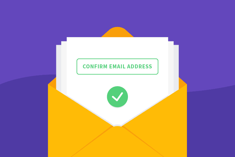 Double opt-in illustration