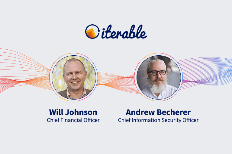 Iterable Appoints CFO & CISO