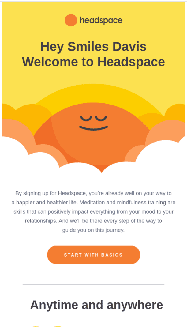 Welcome - Headspace