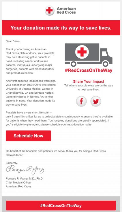 Social/Political/Charitable - American Red Cross