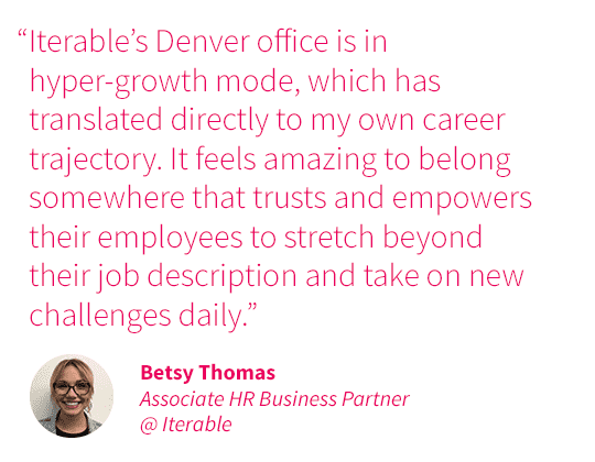 Best Places to Work in Colorado quote - Betsy Thomas
