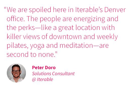 Colorado quote - Peter Doro