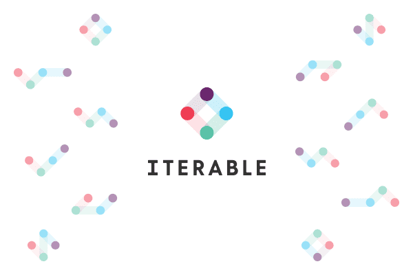 Iterable's logo constellations