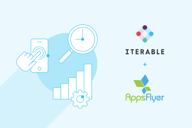 Iterable + AppsFlyer illustration