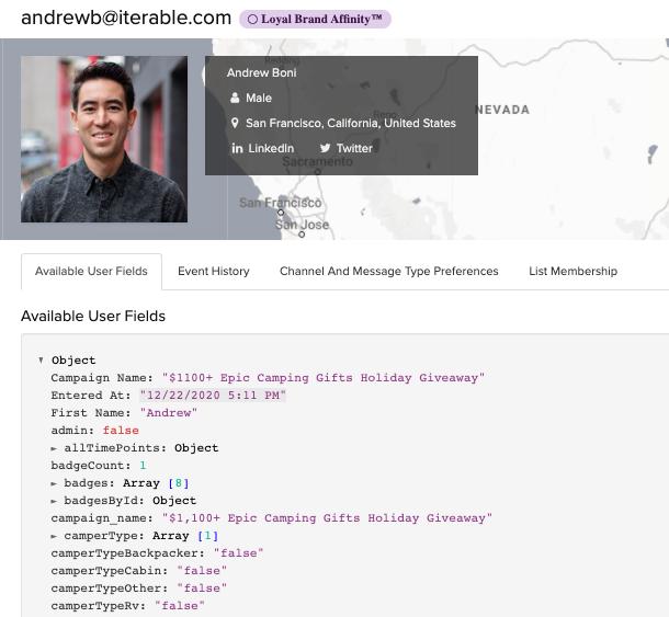 Andrew Boni's User Profile