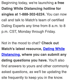Dating While Distancing