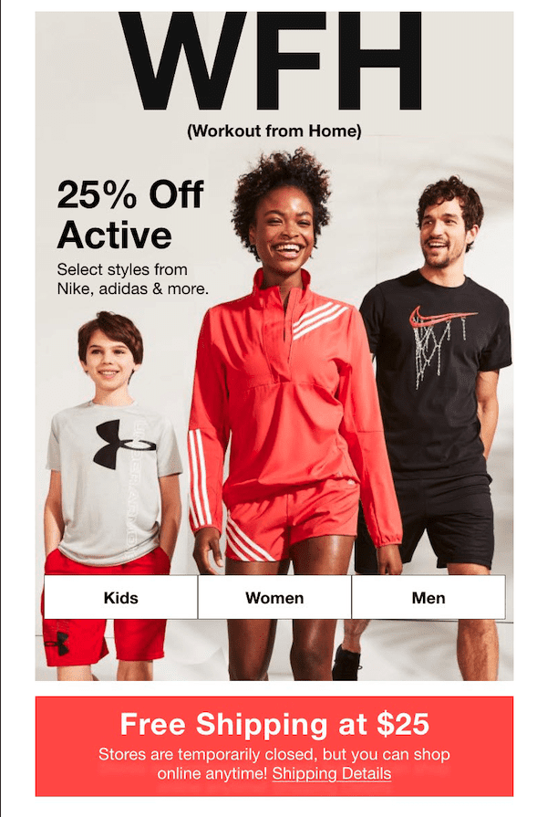 Macys Work From Home Promotion