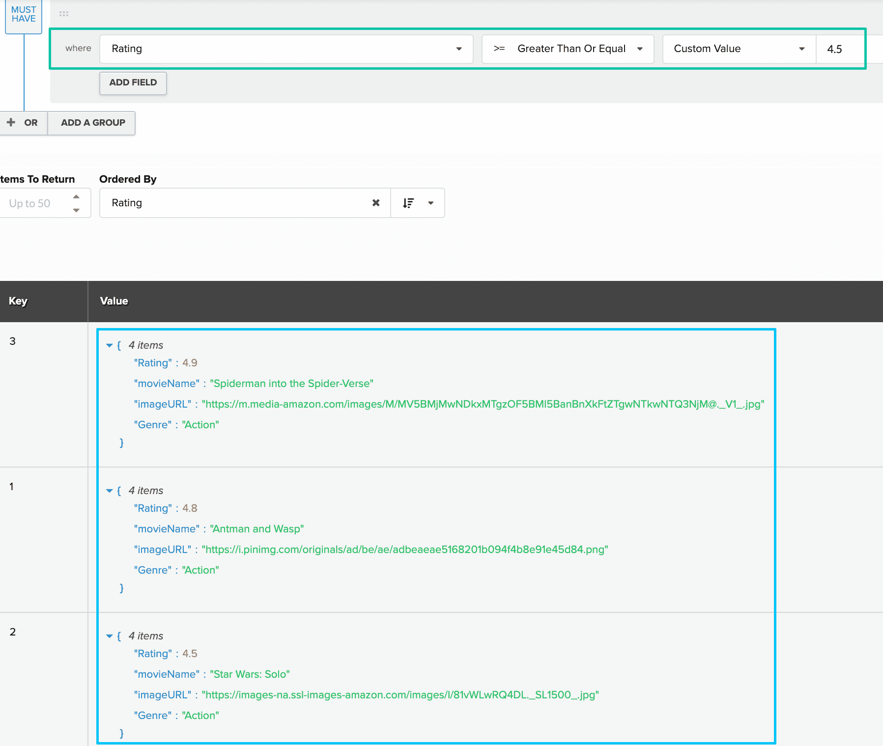 Collection Builder for personalized content