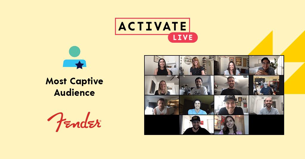 Most Captive Audience: Fender