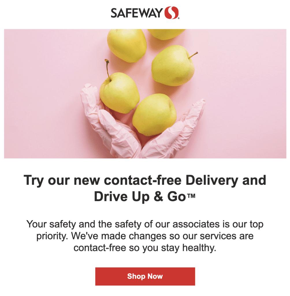 Safeway Grocery Under COVID