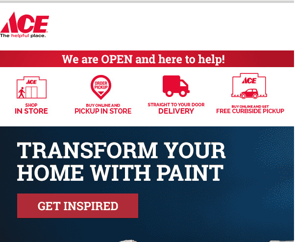 Ace Hardware COVID-19 Purchase Options