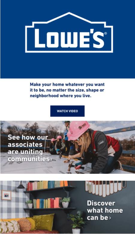 Home Improvement DIY Messaging