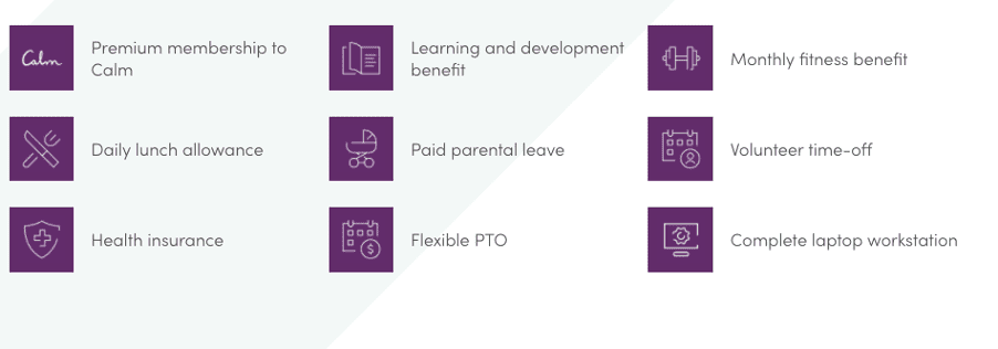Iterable's benefits and perks