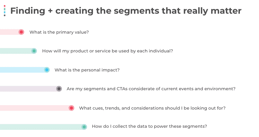 Finding and creating the segments that really matter