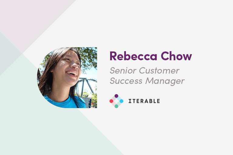 Rebecca Chow, Iterable Senior Customer Success Manager, on Workflow Building