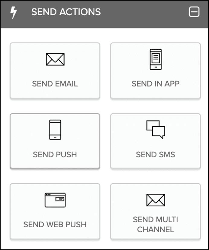 Send Actions Screenshot