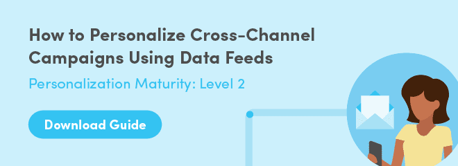 Download Guide: How to Personalize Cross-Channel Campaigns Using Data Feeds
