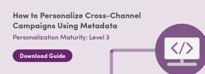 Download Guide: How to Personalize Cross-Channel Campaigns Using Metadata