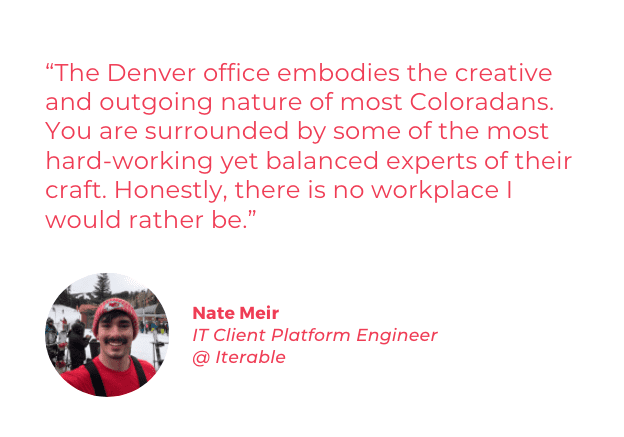 Best Places to Work in Colorado quote - Nate Meir