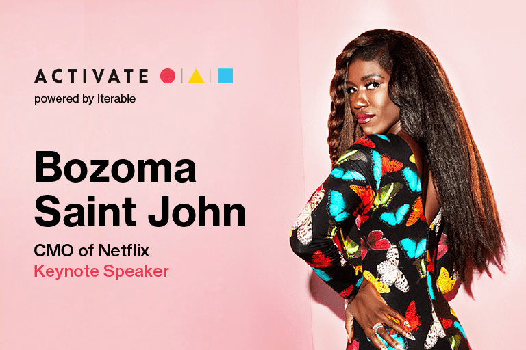 Activate Keynote Speaker: Bozoma Saint John, CMO of Netflix