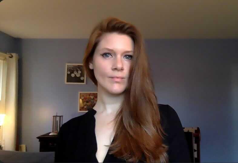 Women in Marketing - Ginny Tonkin all dressed up