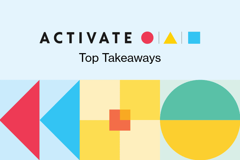 activate top takeaways