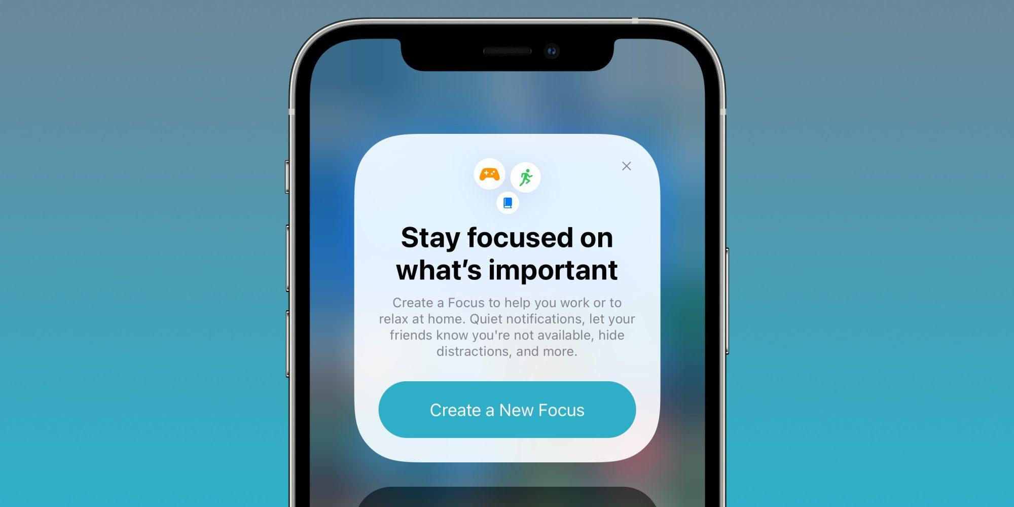 Focus Mode iPhone