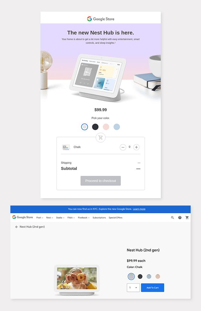 Google Nest Example